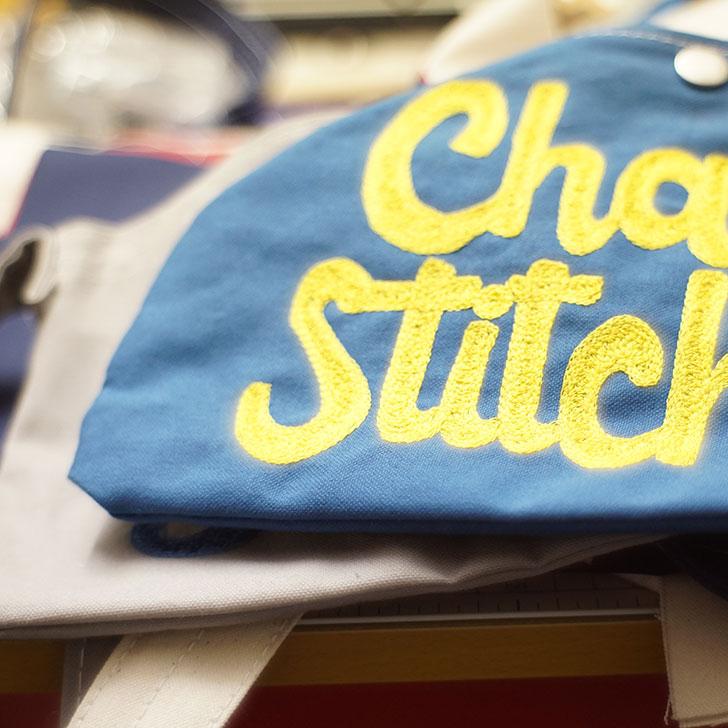 チェーン刺繍サコッシュ