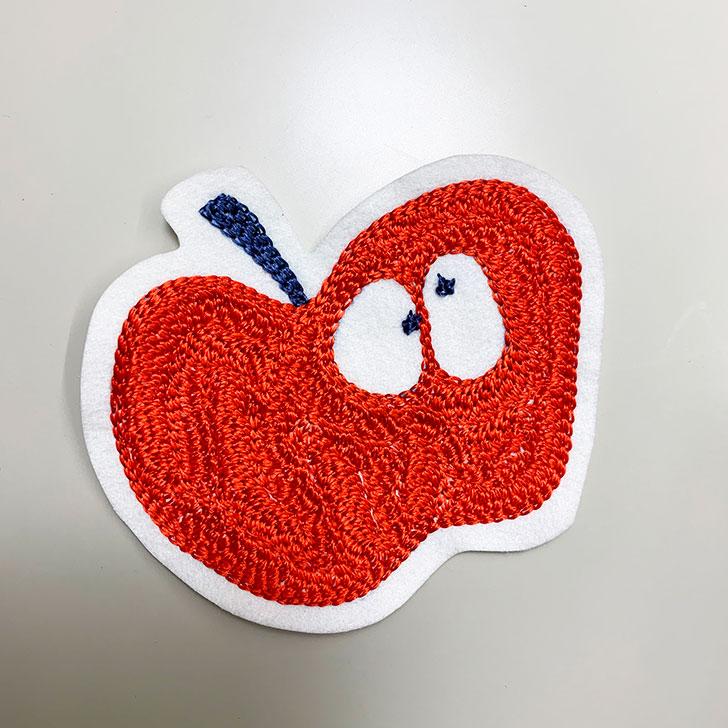 リンゴ ワッペン