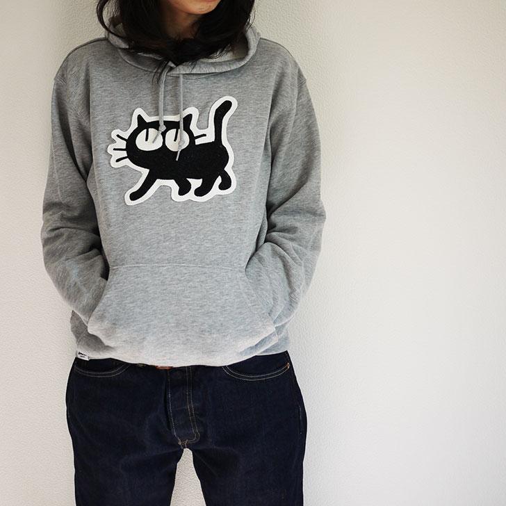 猫パーカー